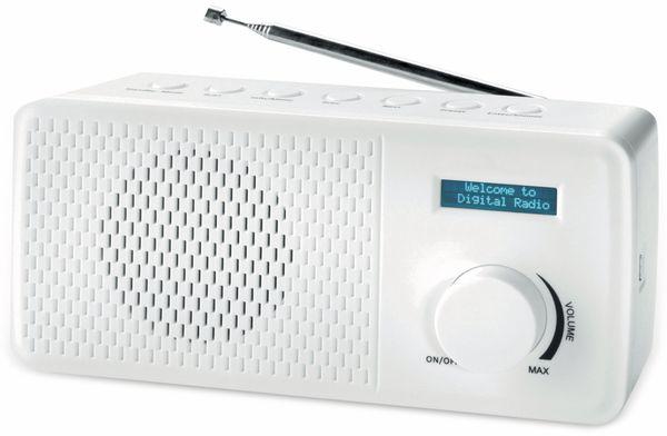 DAB+/UKW Radio DENVER DAB-41, weiß