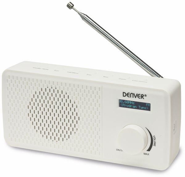 DAB+/UKW Radio DENVER DAB-41, weiß - Produktbild 5