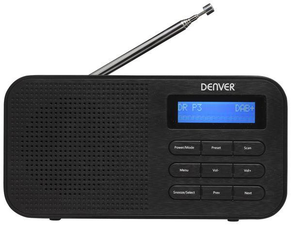 DAB+/UKW Radio DENVER DAB-42, schwarz