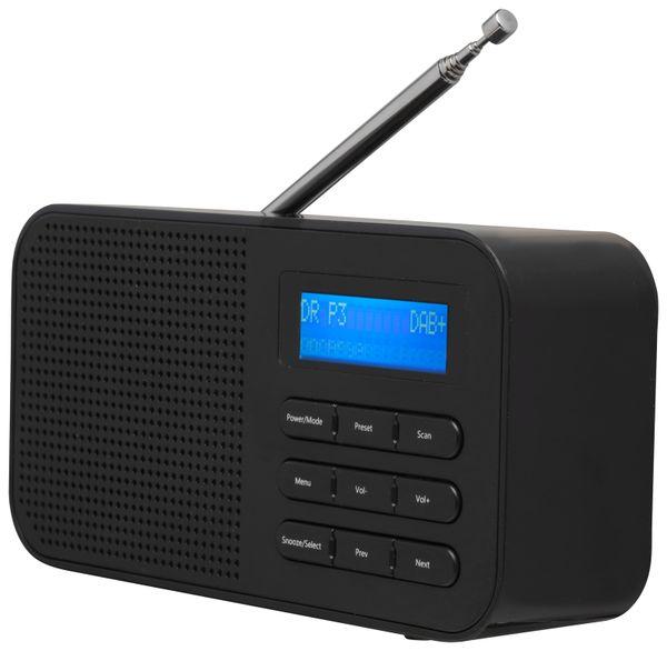 DAB+/UKW Radio DENVER DAB-42, schwarz - Produktbild 2