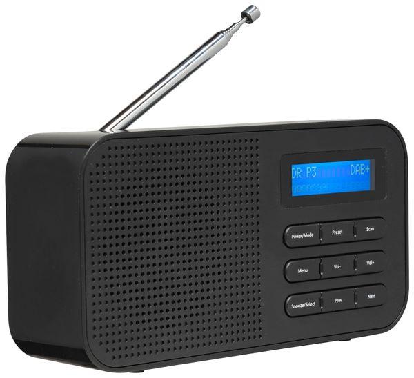 DAB+/UKW Radio DENVER DAB-42, schwarz - Produktbild 3