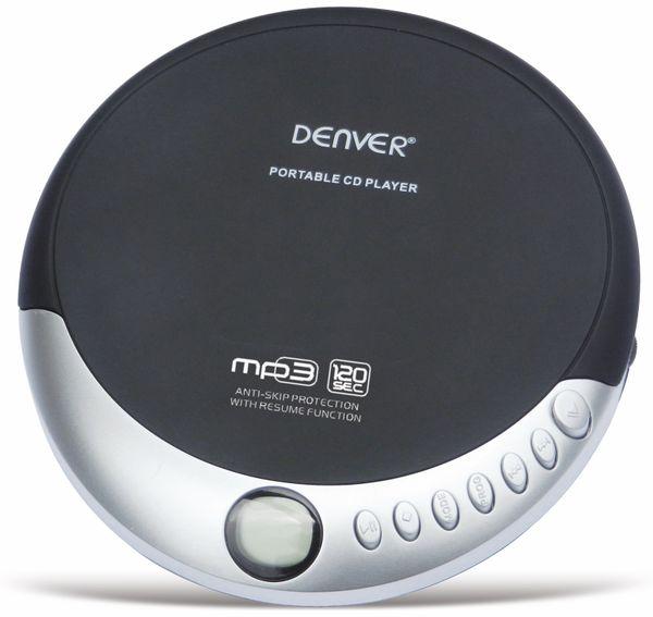 Portabler CD-Player DENVER DMP-389