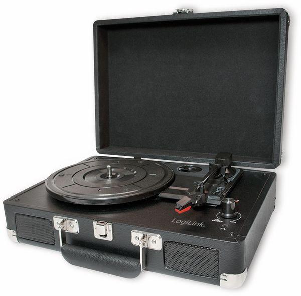 Plattenspieler LOGILINK UA0270, Aktenkoffer, USB
