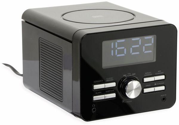 Uhrenradio CDR 264 mit CD-Player, schwarz, B-Ware - Produktbild 1