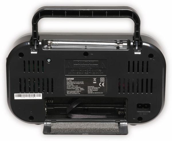 UKW Radio DENVER TR-54, schwarz - Produktbild 2