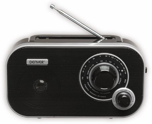 UKW Radio DENVER TR-54, schwarz - Produktbild 3