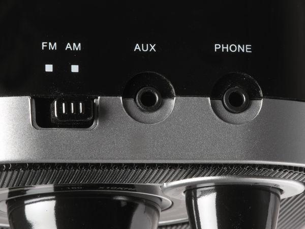 UKW Radio DENVER TR-54, schwarz - Produktbild 4