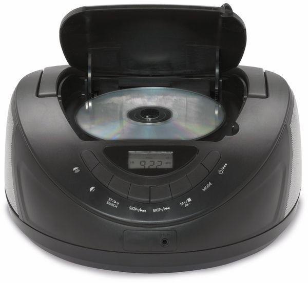 CD-Player DENVER TC-27, schwarz - Produktbild 2