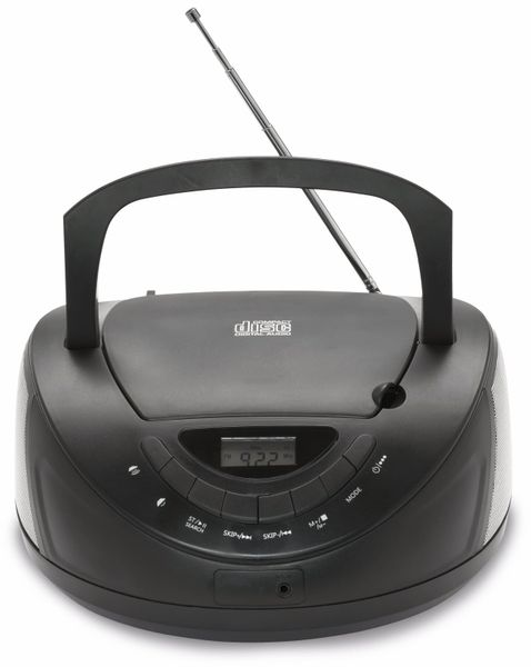 CD-Player DENVER TC-27, schwarz - Produktbild 4