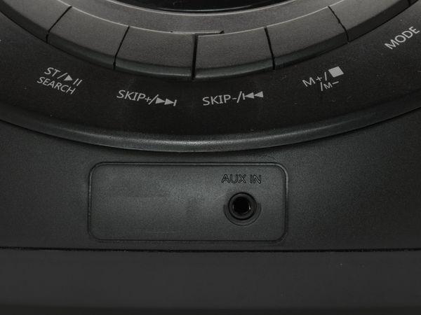 CD-Player DENVER TC-27, schwarz - Produktbild 6