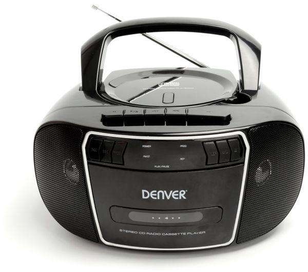 CD-Player DENVER TCP-40, schwarz - Produktbild 3