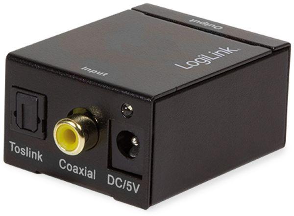 Audio-Konverter LOGILINK CA0101, Toslink/Koax zu Cinch/Klinke - Produktbild 2