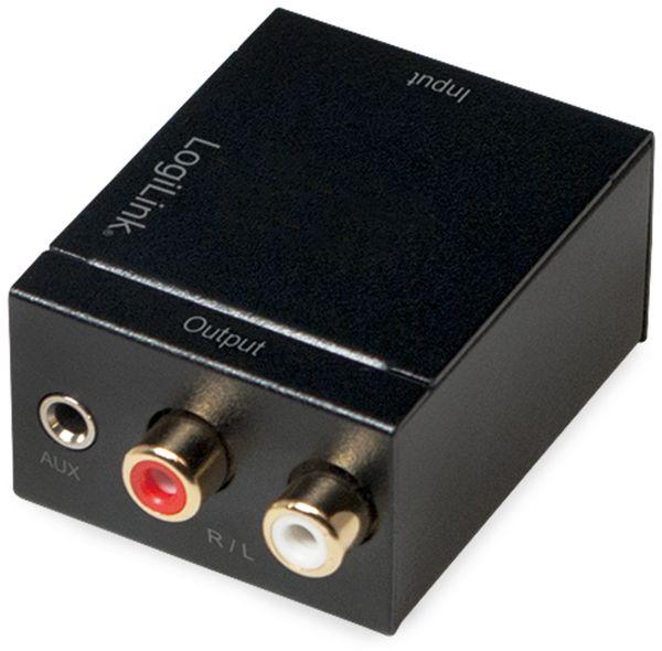 Audio-Konverter LOGILINK CA0101, Toslink/Koax zu Cinch/Klinke - Produktbild 4