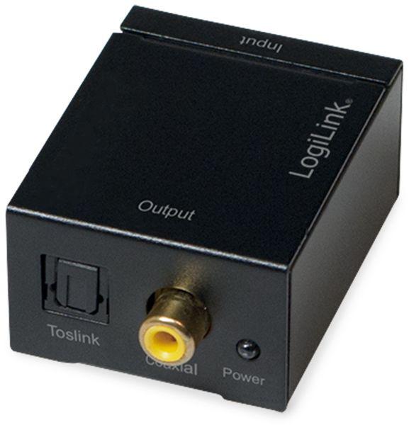 Audio-Konverter LOGILINK CA0102, Cinch zu Koax und Toslink - Produktbild 5