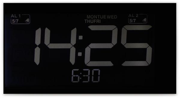 Uhrenradio, RW, weiß, B-Ware - Produktbild 3