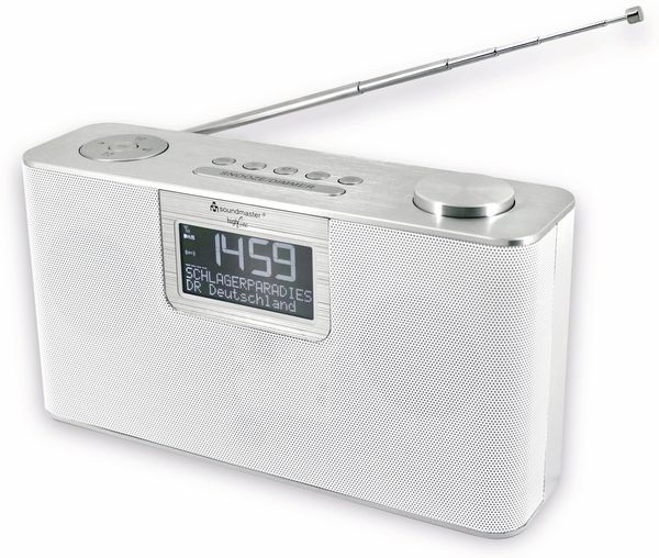 DAB-Radio SOUNDMASTER DAB700WE, weiß