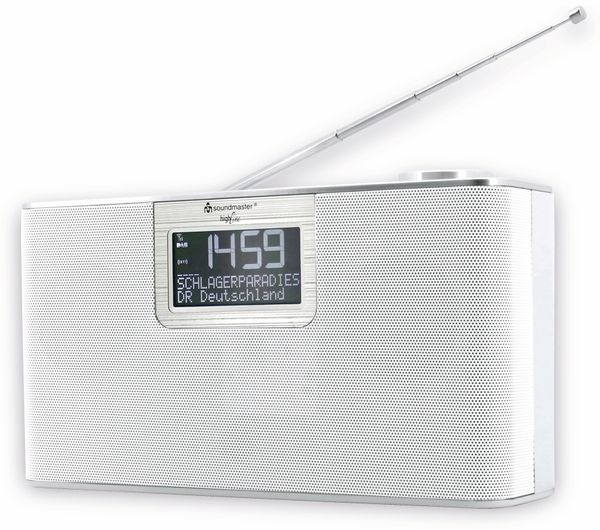 DAB-Radio SOUNDMASTER DAB700WE, weiß - Produktbild 2