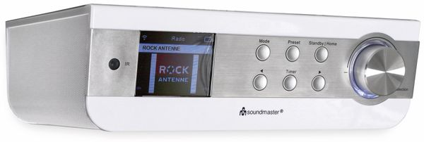 Internet-Küchenunterbauradio SOUNDMASTER IR1450WE, WLAN