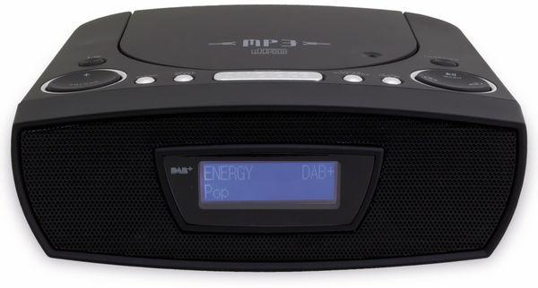 Radiowecker SOUNDMASTER URD480SW, DAB+, schwarz - Produktbild 3