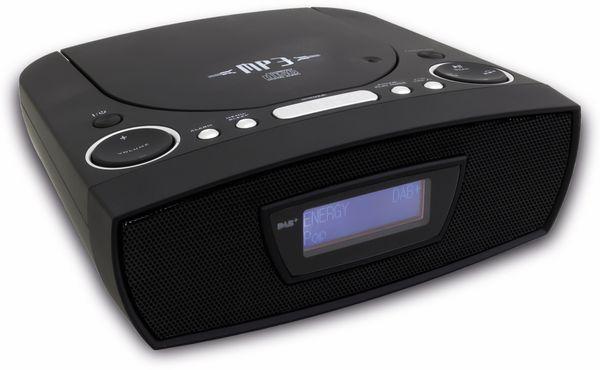 Radiowecker SOUNDMASTER URD480SW, DAB+, schwarz - Produktbild 4