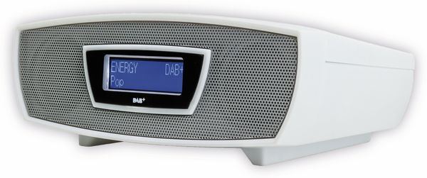 Radiowecker SOUNDMASTER URD480WE, DAB+, weiß - Produktbild 2