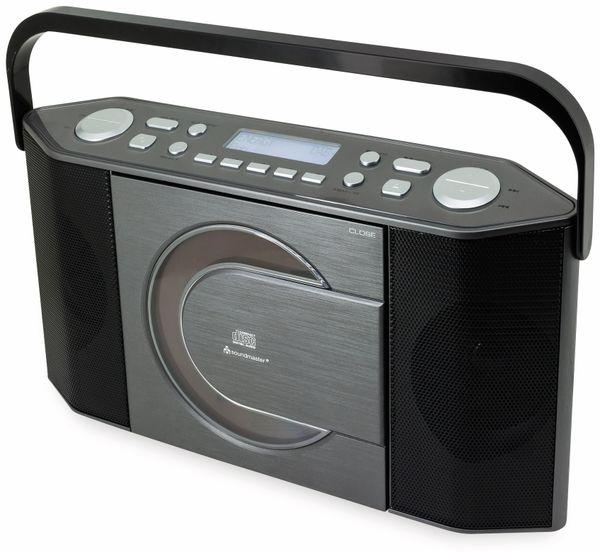 DAB-Radio SOUNDMASTER RCD1770AN, schwarz/silber