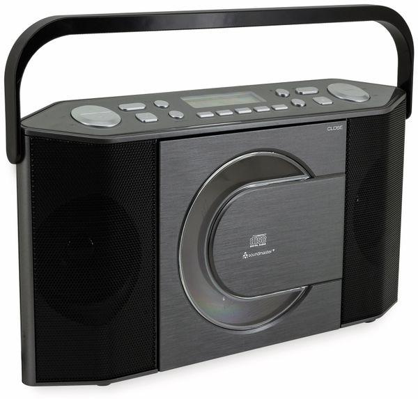 DAB-Radio SOUNDMASTER RCD1770AN, schwarz/silber - Produktbild 2