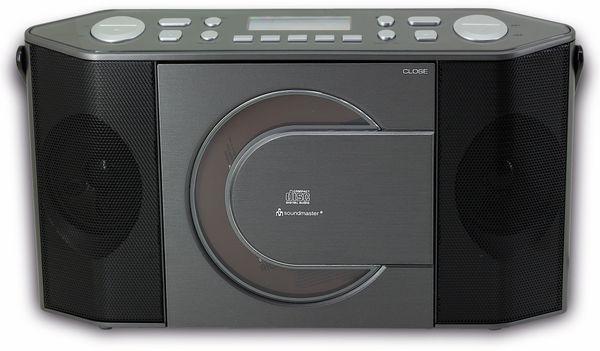 DAB-Radio SOUNDMASTER RCD1770AN, schwarz/silber - Produktbild 3