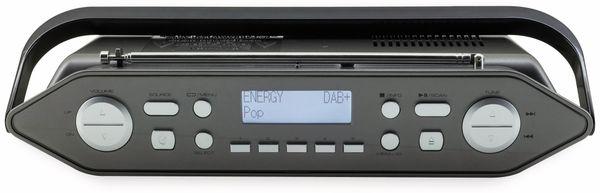 DAB-Radio SOUNDMASTER RCD1770AN, schwarz/silber - Produktbild 4