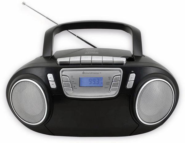 CD-Player SOUNDMASTER SCD5800SW mit Mikrofon, schwarz - Produktbild 3