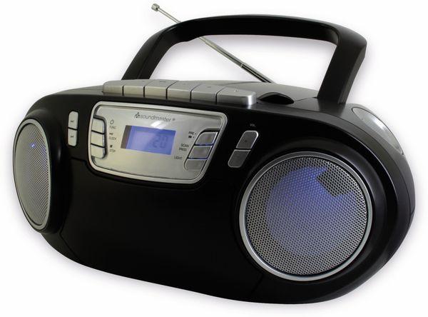 CD-Player SOUNDMASTER SCD5800SW mit Mikrofon, schwarz - Produktbild 4