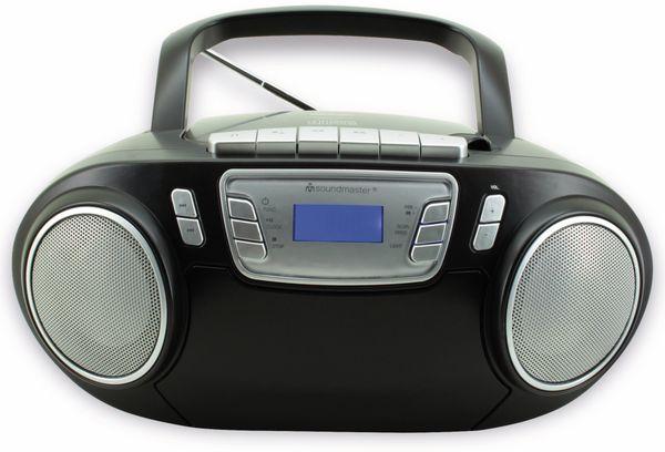 CD-Player SOUNDMASTER SCD5800SW mit Mikrofon, schwarz - Produktbild 5