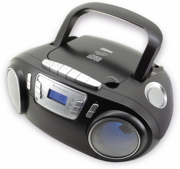 CD-Player SOUNDMASTER SCD5800SW mit Mikrofon, schwarz - Produktbild 6
