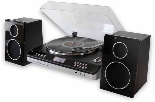 Stereoanlage SOUNDMASTER ELITE LINE PL979SW, schwarz