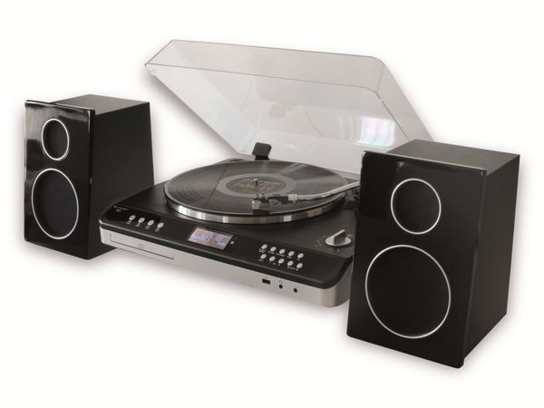Stereoanlage SOUNDMASTER PL979SW, schwarz