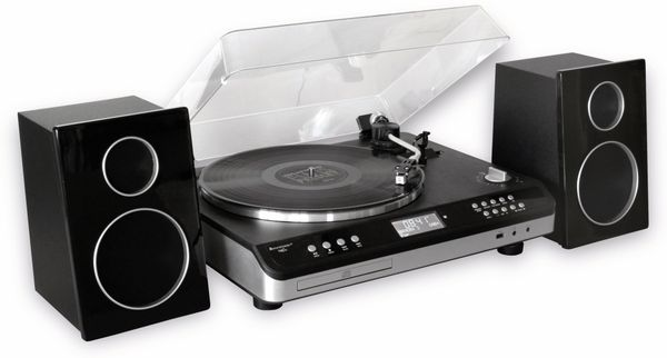 Stereoanlage SOUNDMASTER ELITE LINE PL979SW, schwarz - Produktbild 3