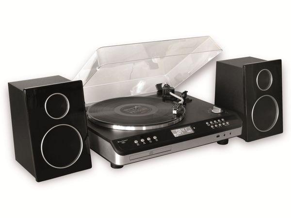 Stereoanlage SOUNDMASTER PL979SW, schwarz - Produktbild 3