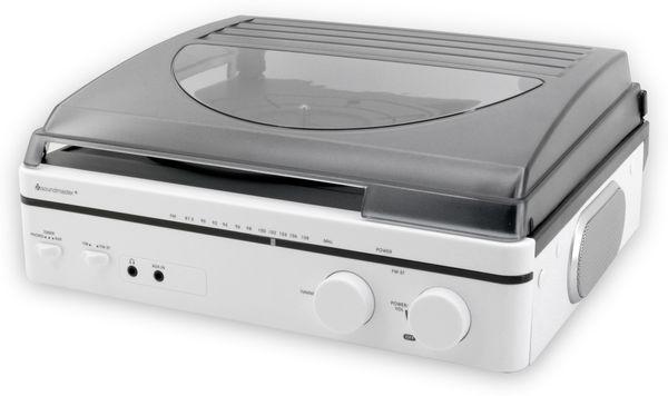 Plattenspieler SOUNDMASTER PL560WE, weiß - Produktbild 2
