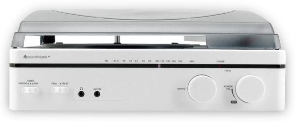 Plattenspieler SOUNDMASTER PL560WE, weiß - Produktbild 3