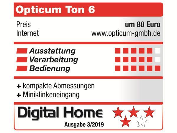 Internetradio OPTICUM Ton 6, schwarz - Produktbild 7