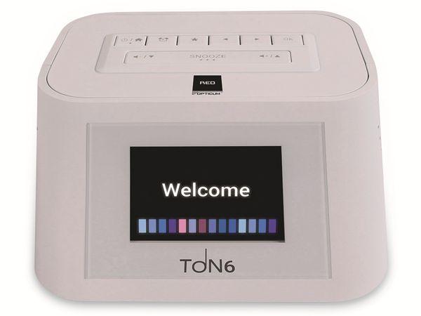 Internetradio OPTICUM Ton 6, weiß - Produktbild 3