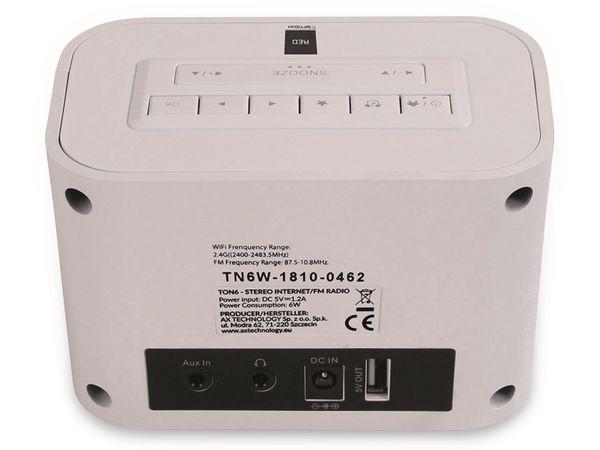 Internetradio OPTICUM Ton 6, weiß - Produktbild 4
