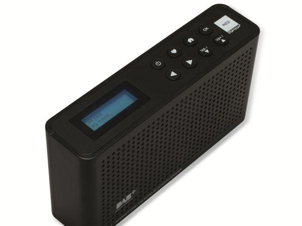 Internetradio OPTICUM Ton 4, schwarz, DAB+, Bluetooth, WLAN