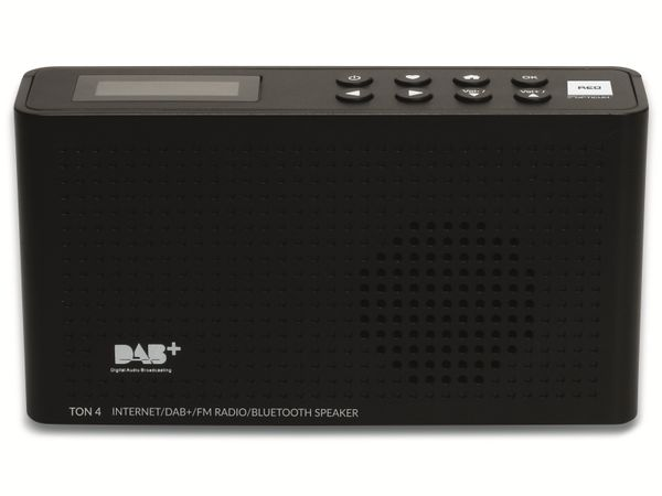 Internetradio OPTICUM Ton 4, schwarz, DAB+, Bluetooth, WLAN - Produktbild 2