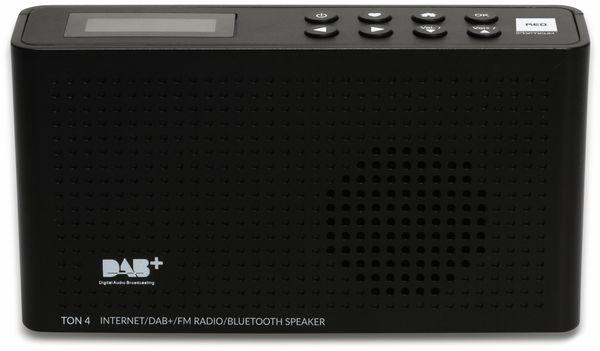 Internetradio RED OPTICUM Ton 4, schwarz, DAB+, Bluetooth, WLAN - Produktbild 2