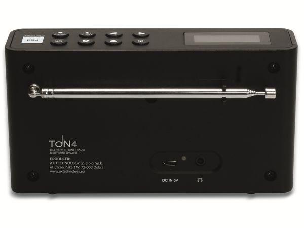 Internetradio OPTICUM Ton 4, schwarz, DAB+, Bluetooth, WLAN - Produktbild 5