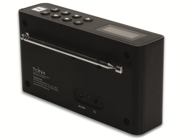 Internetradio OPTICUM Ton 4, schwarz, DAB+, Bluetooth, WLAN - Produktbild 6