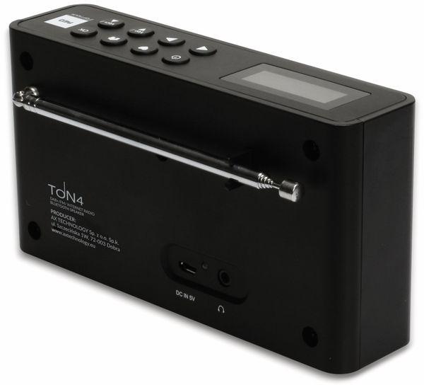 Internetradio RED OPTICUM Ton 4, schwarz, DAB+, Bluetooth, WLAN - Produktbild 6