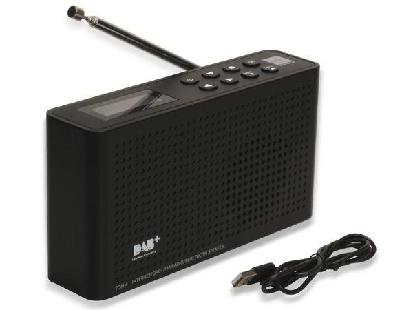 Internetradio OPTICUM Ton 4, schwarz, DAB+, Bluetooth, WLAN - Produktbild 7