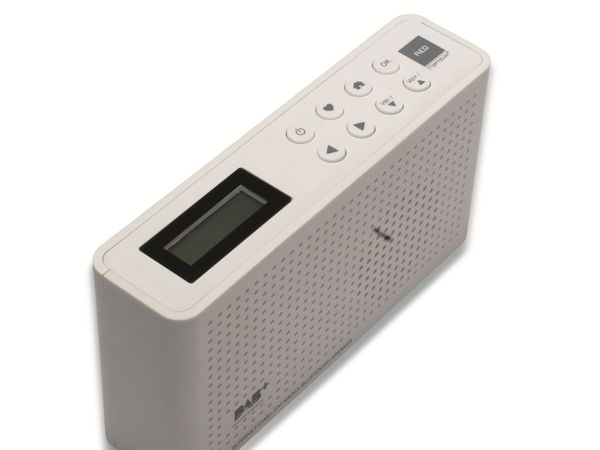 Internetradio OPTICUM Ton 4, weiß, DAB+, Bluetooth, WLAN